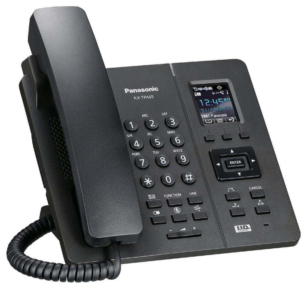 Panasonic-KX-TPA65-Wireless Sip Phone
